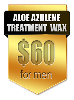 Aloe Azulene wax